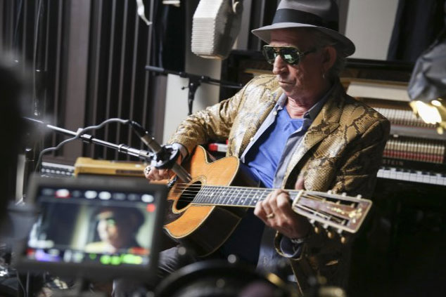 Netflix's original Keith Richards documentary launching Sept. 18