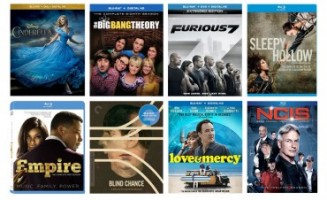 New on Blu-ray: Furious 7, Cinderella, Big Bang Theory S8, Empire S1, & more