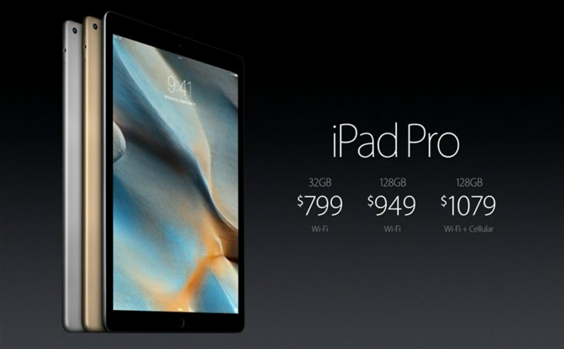iPad Pro highlights from Apple's Event