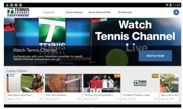 Tennis Channel launches on Amazon Fire TV & Fire tablets