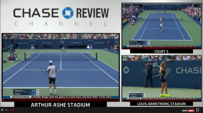 How to stream the 2015 US Open Tennis Tournament