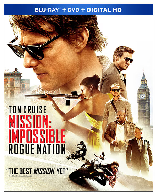 Blu-ray Art Revealed for Mission: Impossible Rogue Nation
