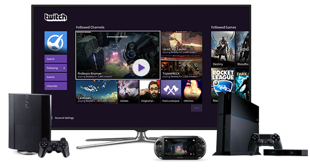Twitch Launches Full-Featured PS4 App