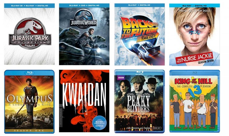 New on Blu-ray: Jurassic World, Back to the Future 30th Anniversary, & more
