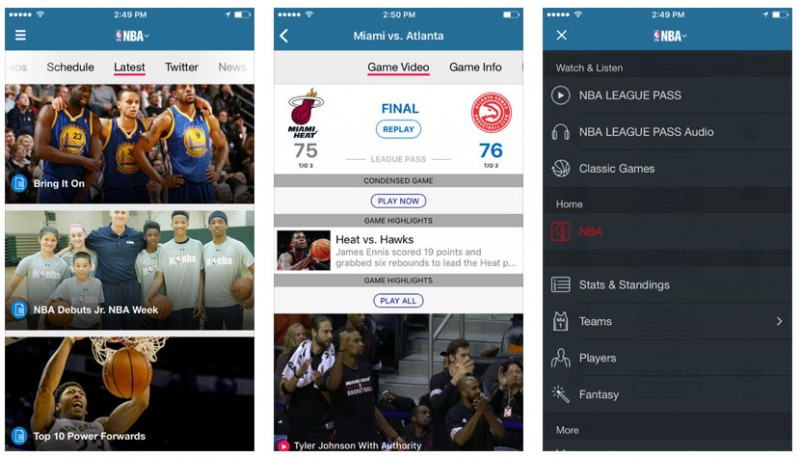 NBA Updates Android/iOS Apps & Offers NBA League Pass Trial