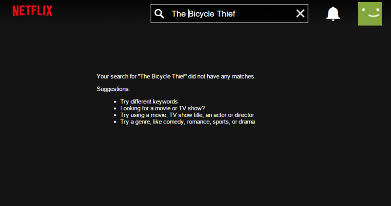 Netflix sued in New York for streaming 'The Bicycle Thief'