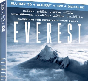 'Everest' Blu-ray & Digital Release Dates Announced