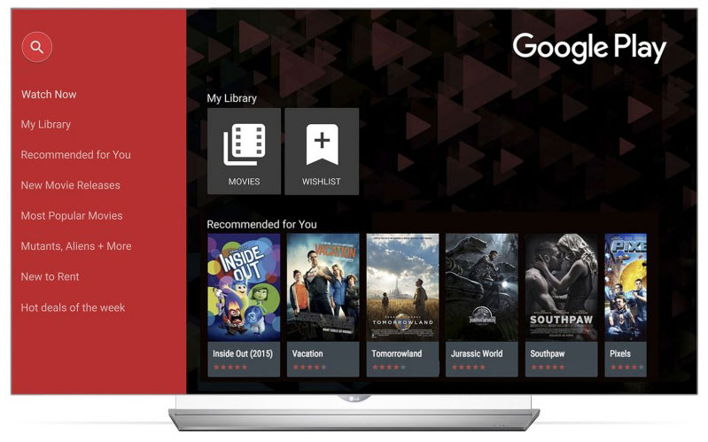 LG Smart TVs Add Google Play Movies & TV Access