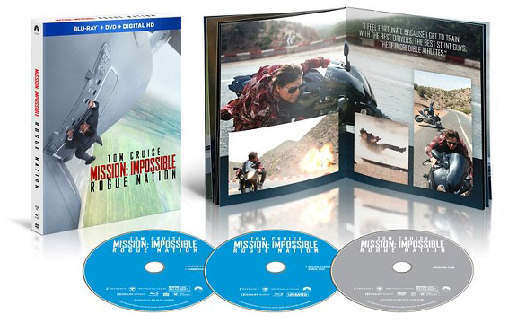 'Mission: Impossible Rogue Nation' Exclusive Blu-ray Editions from Best Buy & Target
