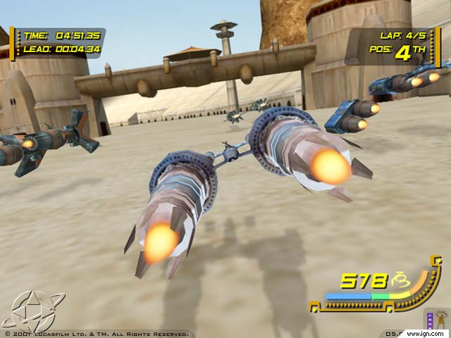 Star Wars Racer Revenge grab2