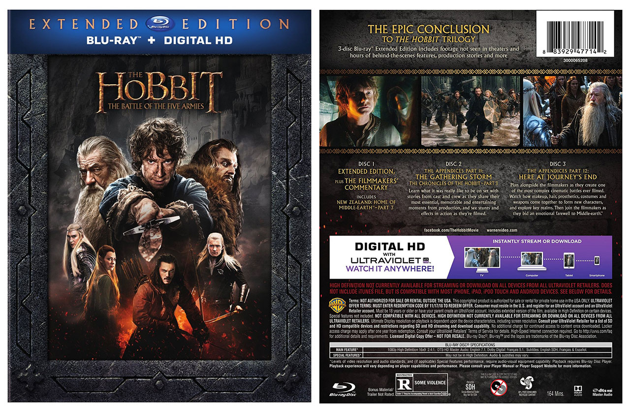 The Hobbit The Battle Of The Five Armies Extended