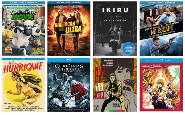 New on Blu-ray Disc: American Ultra, Shaun the Sheep Movie, & more