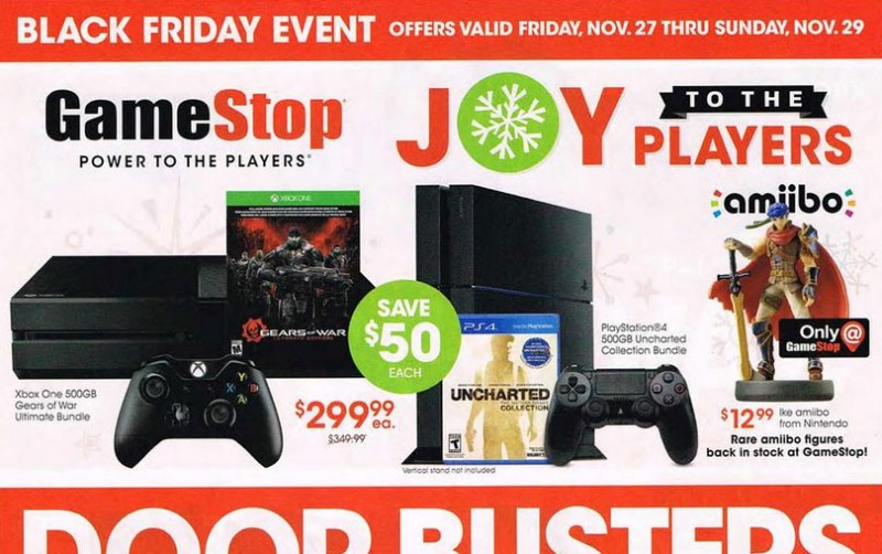 GameStop's 12-Page Black Friday Ad Revealed