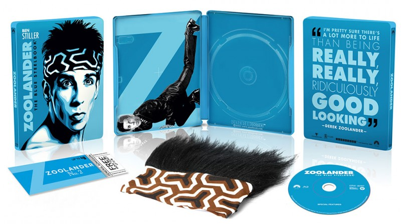 ZOOLANDER Limited Edition Steelbook Blu-ray Gift Set coming to Walmart
