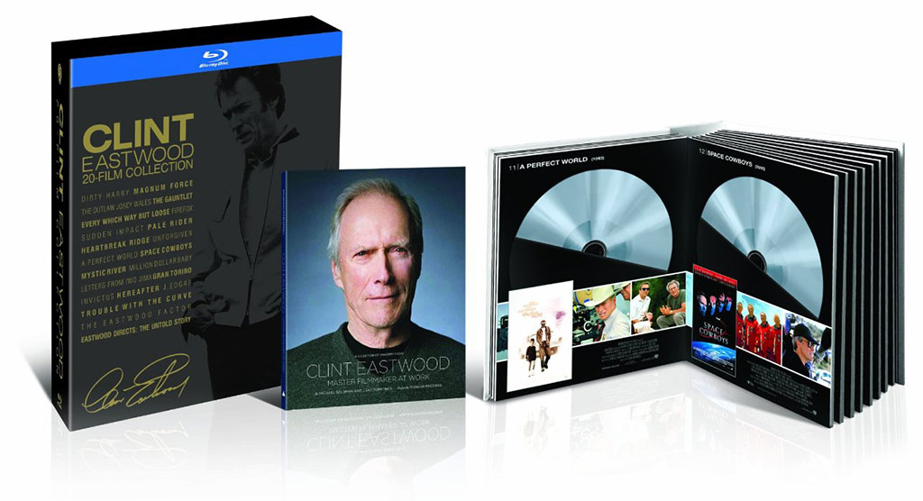 Clint Eastwood 20 Film Collection On Blu Ray Only 54 96