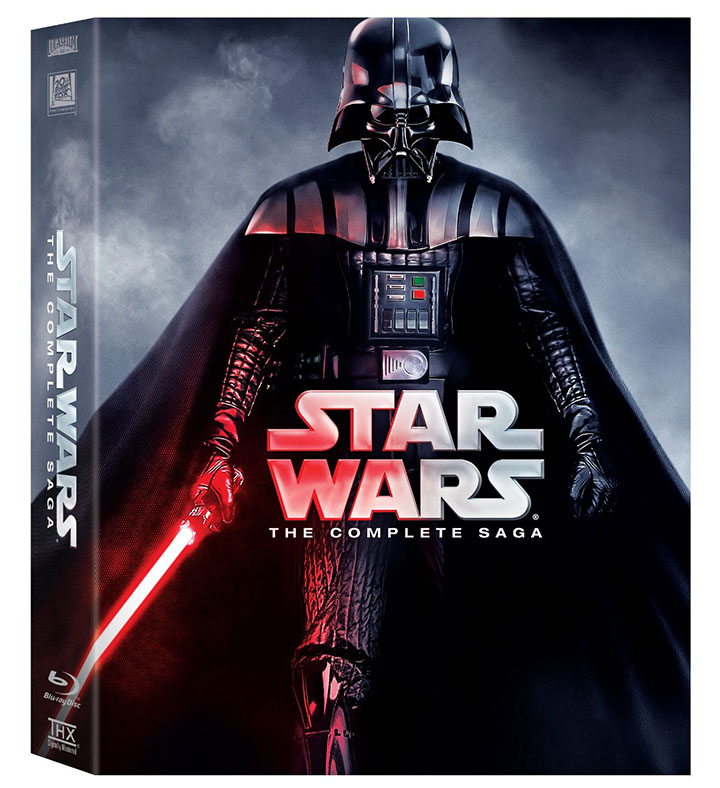 Deal Alert: 'Star Wars: The Complete Saga' on Blu-ray $89.96