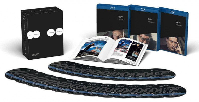 The Ultimate James Bond Collection only $89 (List $299)