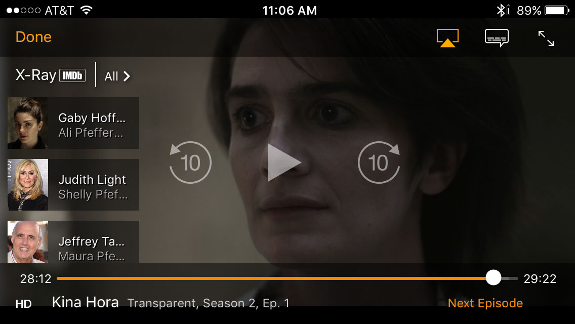 Amazon X Ray >> Amazon Video App For Apple Devices Adds Many New Features Hd Report