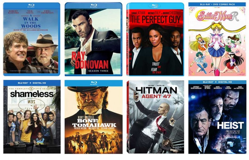 New on Blu-ray This Week: Heist, Hitman: Agent 47, A Walk in The Woods & more