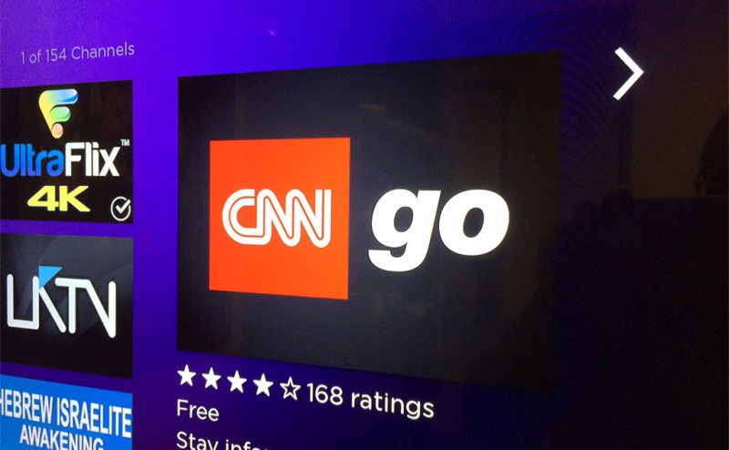 CNNgo channel launches on Roku