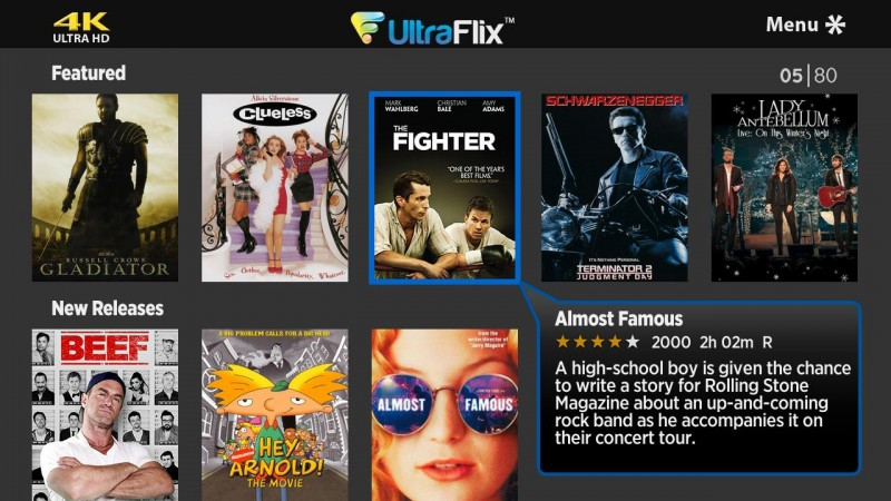 UltraFlix launches 4k titles for Roku 4 players