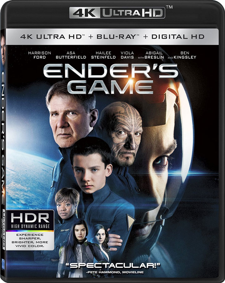 Here's the packaging for Lionsgate's first 4k Ultra HD Blu-ray titles – HD Report