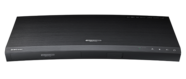 Samsung UBD-K8500 Ultra HD Blu-ray Player curved