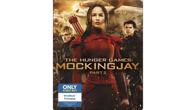 The Hunger Games Mockingjay - Part 2 Best Buy Blu-ray