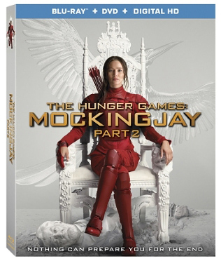 The Hunger Games Mockingjay Part 2 Blu-ray
