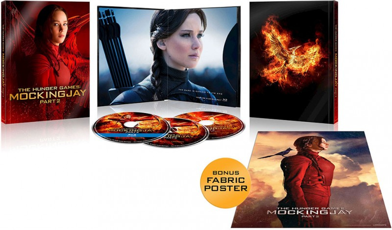 'The Hunger Games: Mockingjay – Part 2′ Exclusive Blu-ray Editions