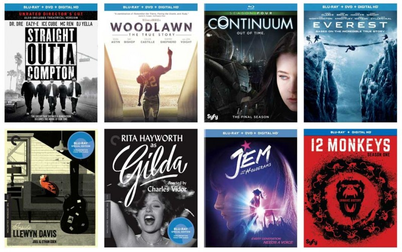New on Blu-ray: Everest 3D, Straight Outta Compton, Woodlawn & more
