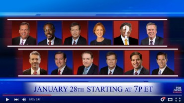 Fox & Google Team Up for 7th Republican Debate