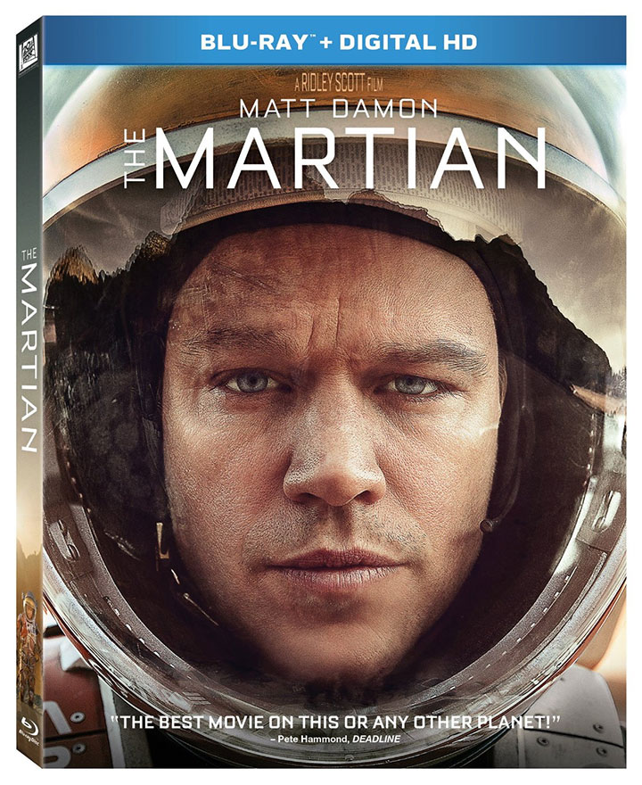 New Blu-ray Releases: The Martian, Hotel Transylvania 2, Mr. Robot, & more