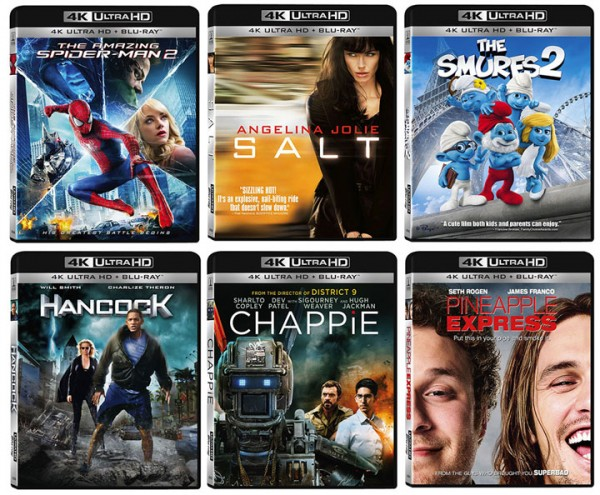 1st 4k Ultra HD Blu-ray movies released by Sony Pictures – HD Report