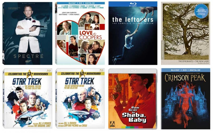 Spectre, Crimson Peak, The Leftovers & Other New Blu-ray Releases This Week