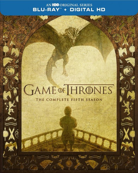 game of thrones season 5 blu-ray front