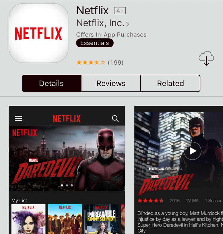 Netflix app update for iOS adds 3D Touch & iPad Pro support