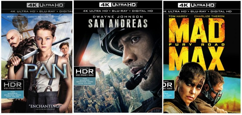 Warner Bros. Release Date & Pricing of 1st Ultra HD Blu-ray Titles