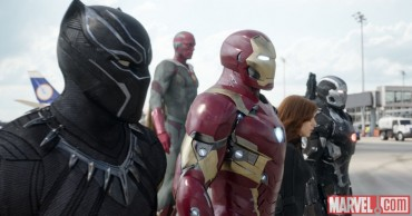 Marvel Releases 'Captain America: Civil War' Behind-the-Scenes Photos