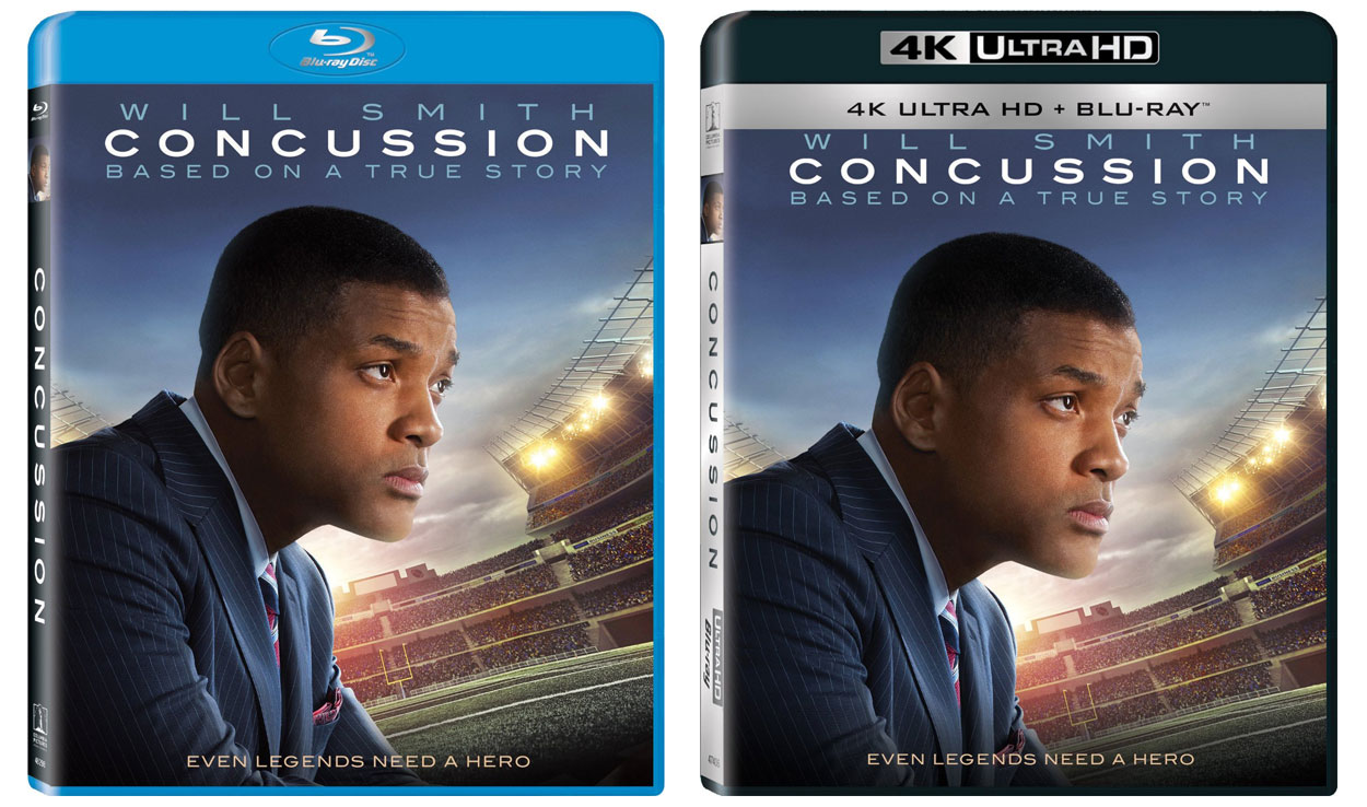 Concussion-Ultra-HD-Blu-ray & Blu-ray