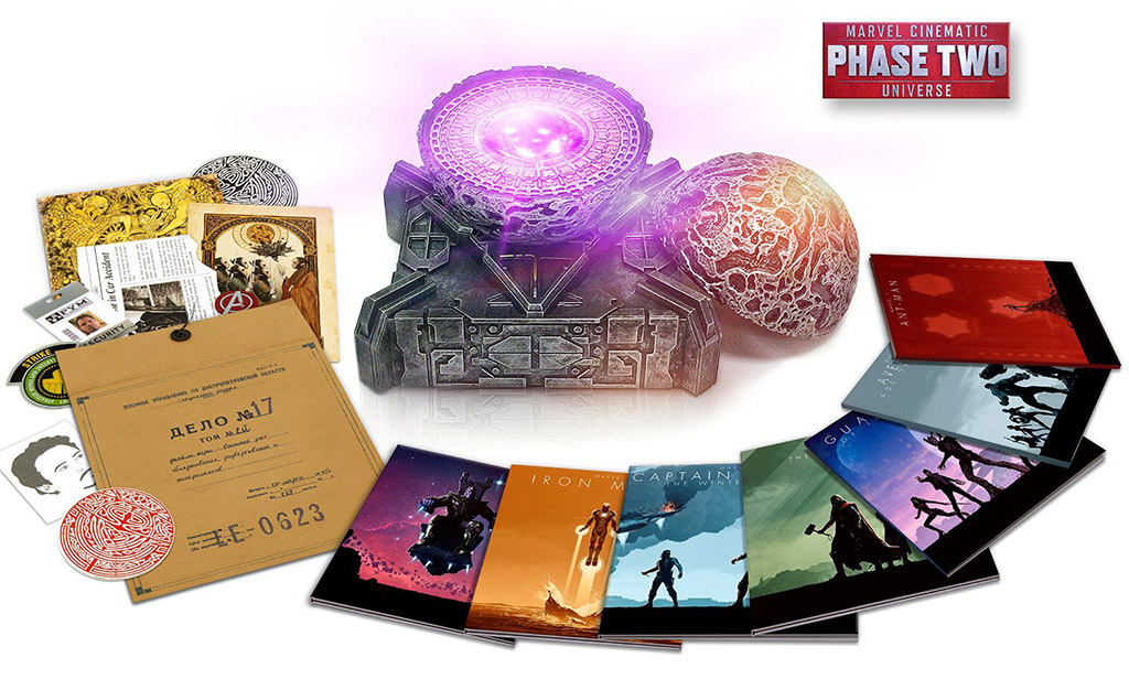 Marvel Cinematic Universe- Phase Two Blu-ray Collection Open