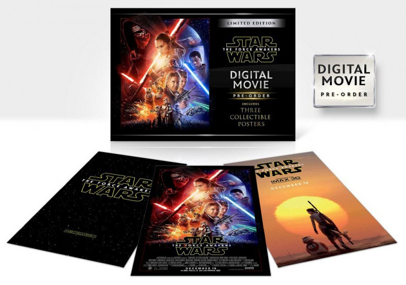 Star Wars: The Force Awakens Exclusive & Limited Blu-ray & Digital Editions