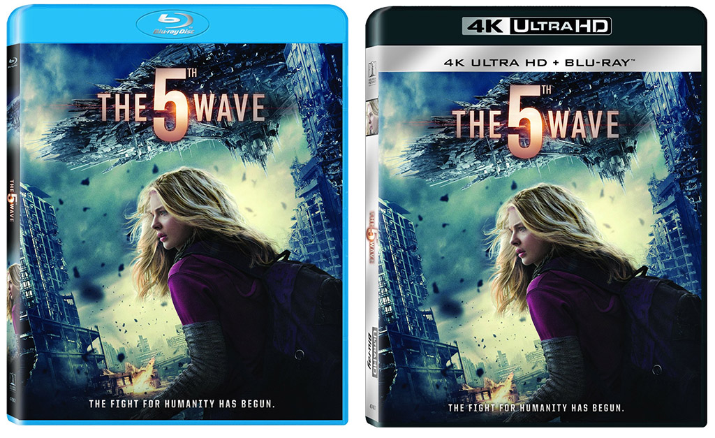 The 5th Wave BD Ultra HD Blu-ray 2up