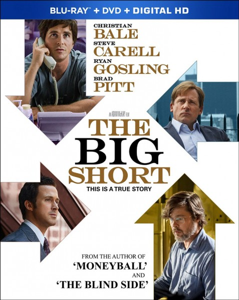 The Big Short Blu-ray Disc