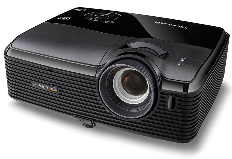 ViewSonic PRO8400 1080p 3D DLP Home Theater Projector 768px