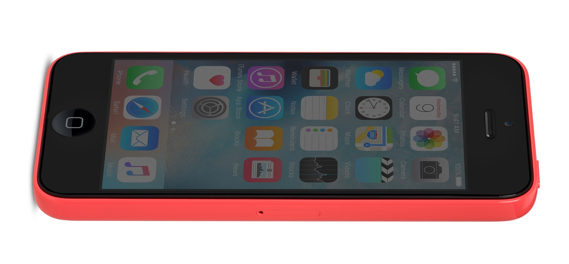 iphone-5c-side-red