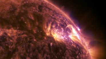 Incredible NASA Footage Captures Solar Flare in 4k UHD