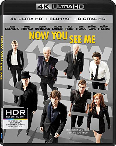 Now You See Me Ultra HD Blu-ray 400px