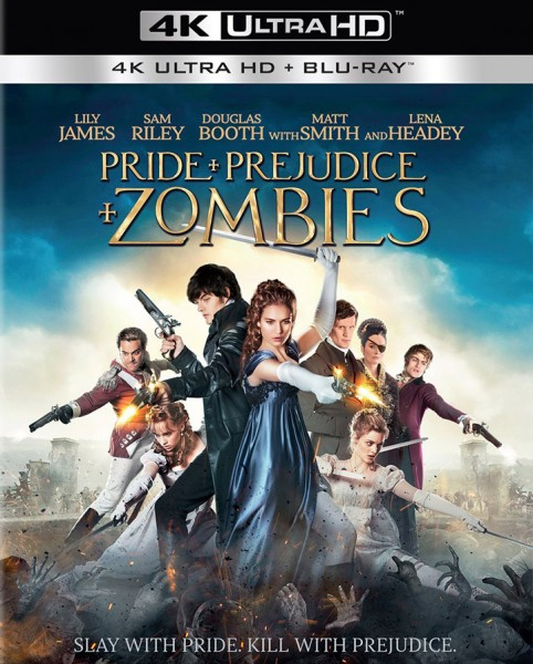 Pride and Prejudice and Zombies Ultra HD Blu-ray 720px