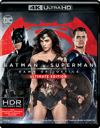'Batman v Superman: Dawn of Justice' 4K / Blu-ray Available for Pre-Order